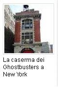 la caserma dei Ghostbusters a New York