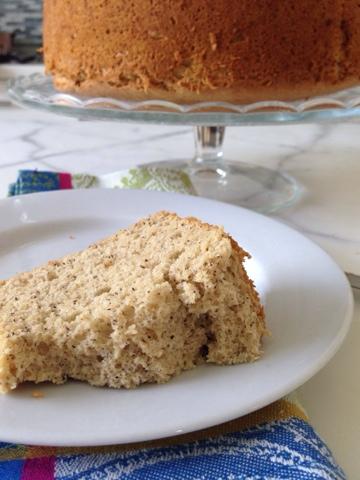 CAKE ON THE BRAIN: GLUTEN FREE BANANA CHIFFON CAKE