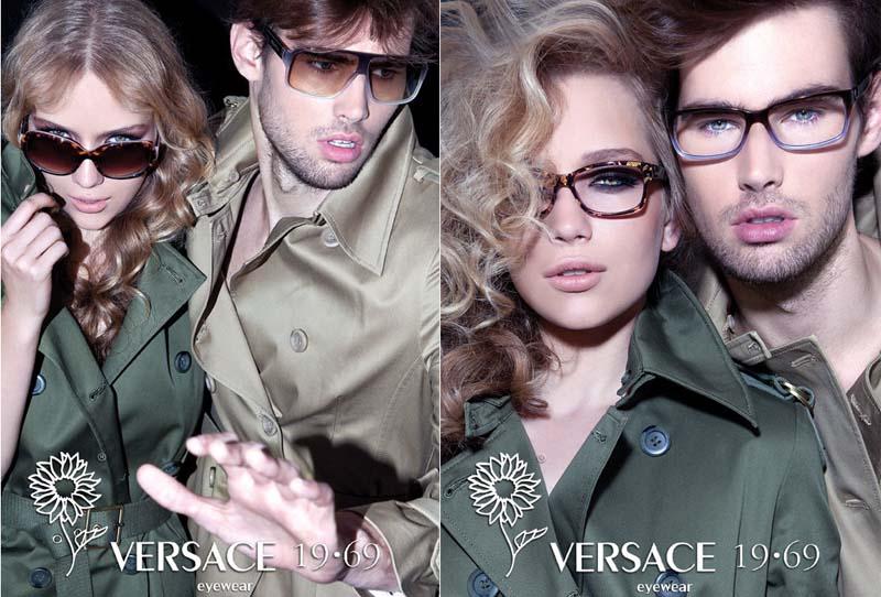 Versace-19-69-eyewear campaign by Iakovos Kalaitzakis