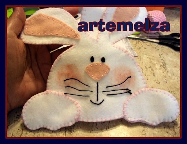 artemelza - bolsa coelhinho