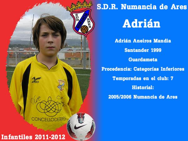 ADR Numancia de Ares. Infantís 2011-2012- ADRIAN.