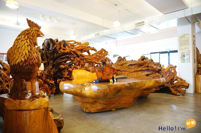 台中龍井景點,希諾奇檜木博物館-1
