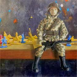 Guardianes de libertad II,pintura de Antonio Tapia
