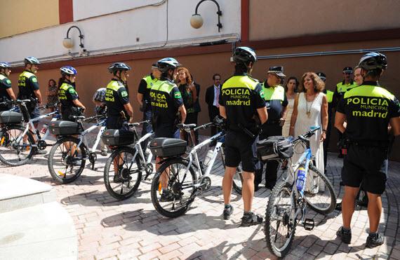 20 agentes en la Sección Ciclista de la Policía Municipal