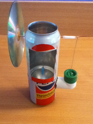 Quick and Easy Stirling Engine made by David Reilly