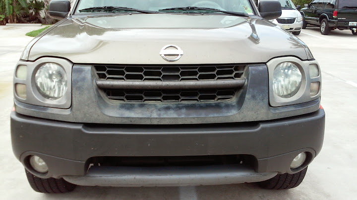 anyone restore the front end of a nissan xterra before front end of a nissan xterra before