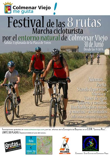 I Marcha Cicloturista en Bicicleta de Montaña de Colmenar Viejo