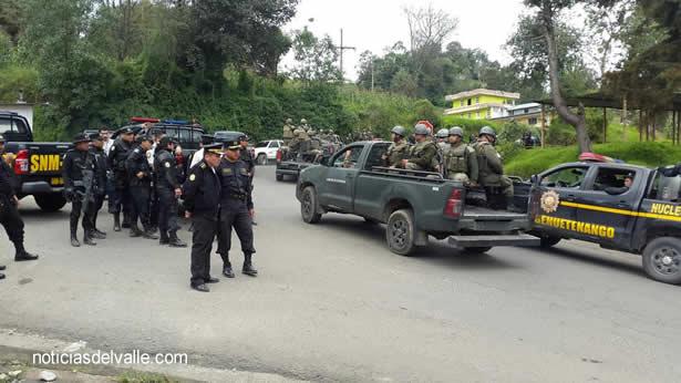 Finaliza estado de Sitio en Ixchiguan y Tajumulco