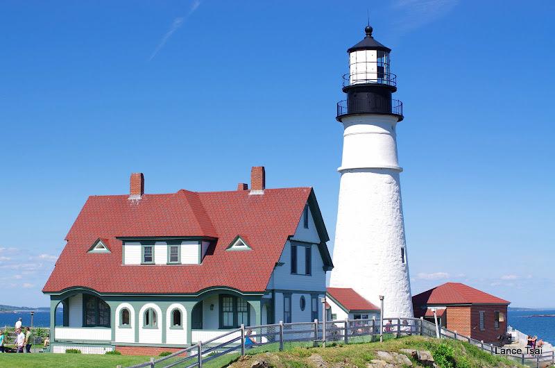 美國緬因州波特蘭燈塔 (Portland Head Light)