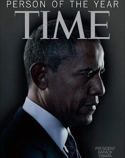 Obama, el personaje del año, según la revista Time.