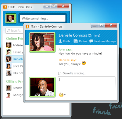 Free Desktop Facebook Chat Messenger With fTalk