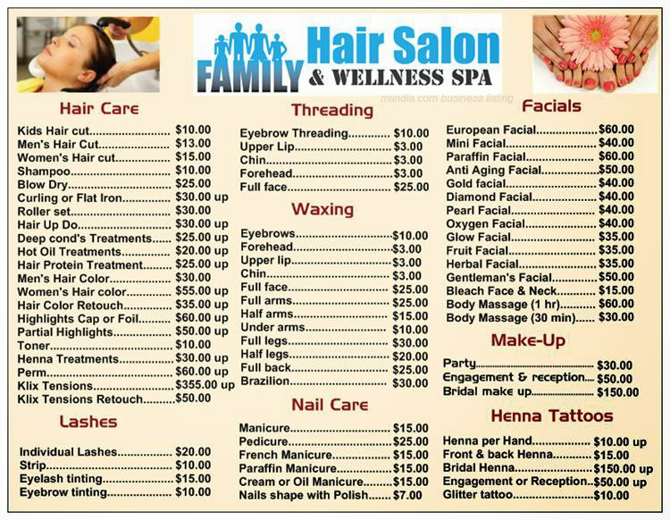 Family Hair Salon and Wellness Spa in Michigan - Miindia.com