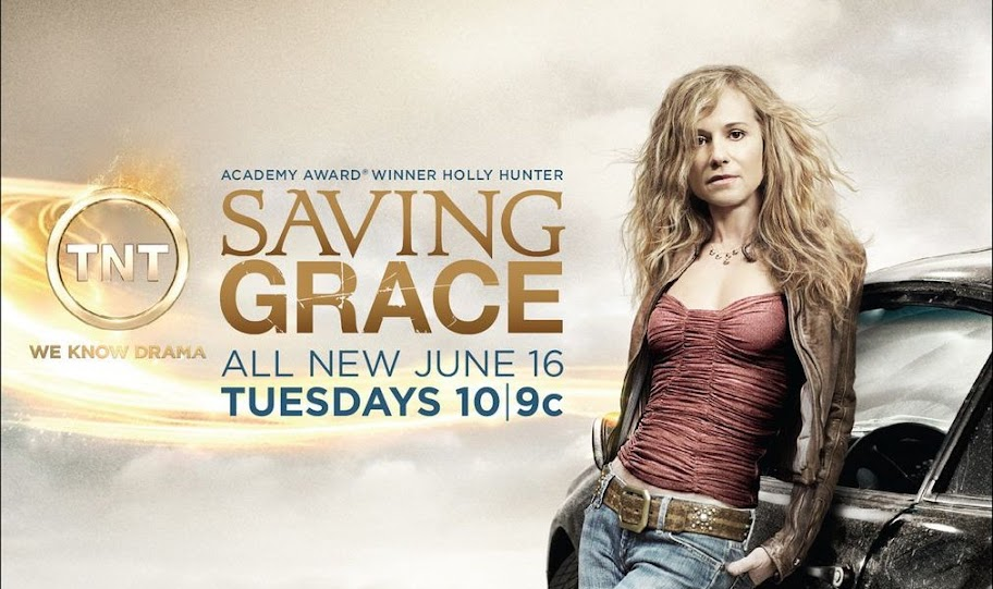 Holly Hunter - Saving Grace Poster