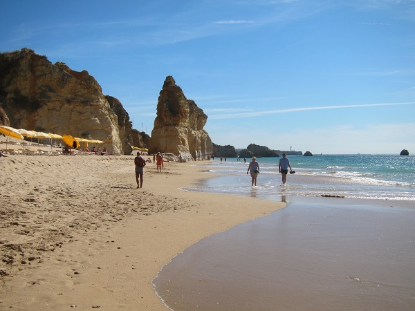 portugal algarve portimao rocks