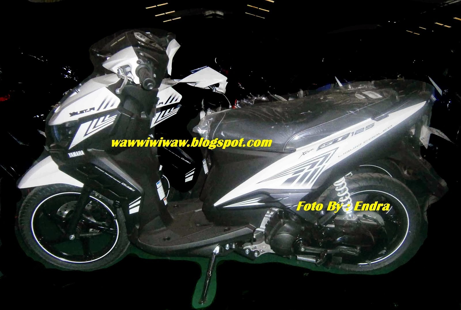 Modifikasi Motor Matic Yamaha Xeon