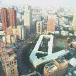 9 Pohľad z izby hotela One na mesto Taichung.jpg