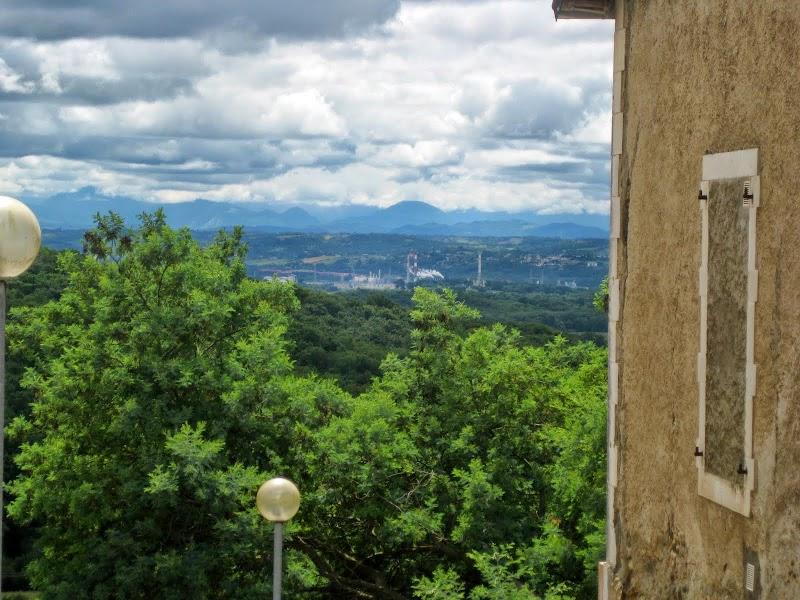 das Ziel vor Augen: die Pyrenäen
