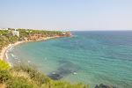 La plage de Rafina