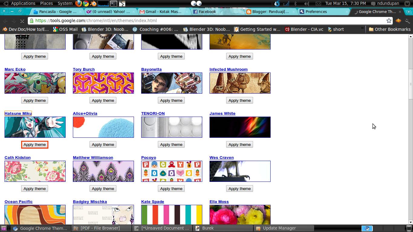 Chromium Browser Theme 3