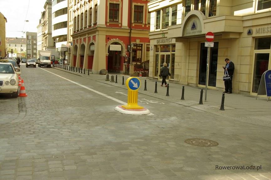 A tak we Wrocławiu wyglądają kontrapasy dla rowerzystów. Ktoś w Łodzi widział takie znaki na ulicy (bo o kontrapasy nie ma co pytać)?