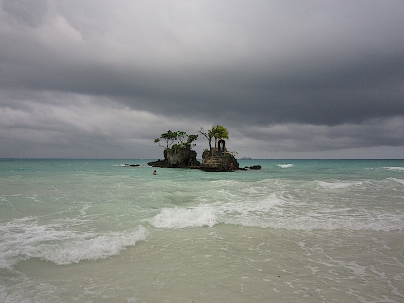 Willy's Rock in Boracay