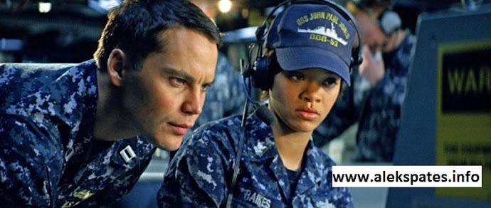 Grammy, Rihanna, Battleship Review, Battleship 2012, Taylor Kitsch (known for the movie John Carter) as Lieutenant Alex Hopper, Brooklyn Decker as the leading lady Samantha Shane, Liam Neeson (The A-Team, Taken and Wrath of the Titans) as Admiral Shane, Alexander Skarsgård as Commander Stone Hopper and Rihanna as the Petty Officer Cora 'Weps' Raikes