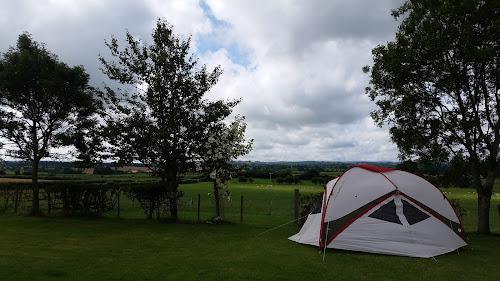 Camping  at Low Moor