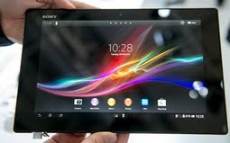 Sony Xperia Tablet Z Will Soon Be Available in the US After FCC Approval