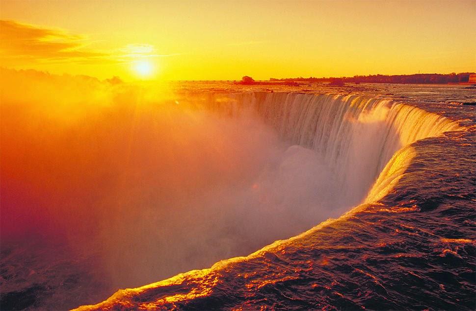 Ниагарский водопад, США | Канада, Красивые водопады планеты
