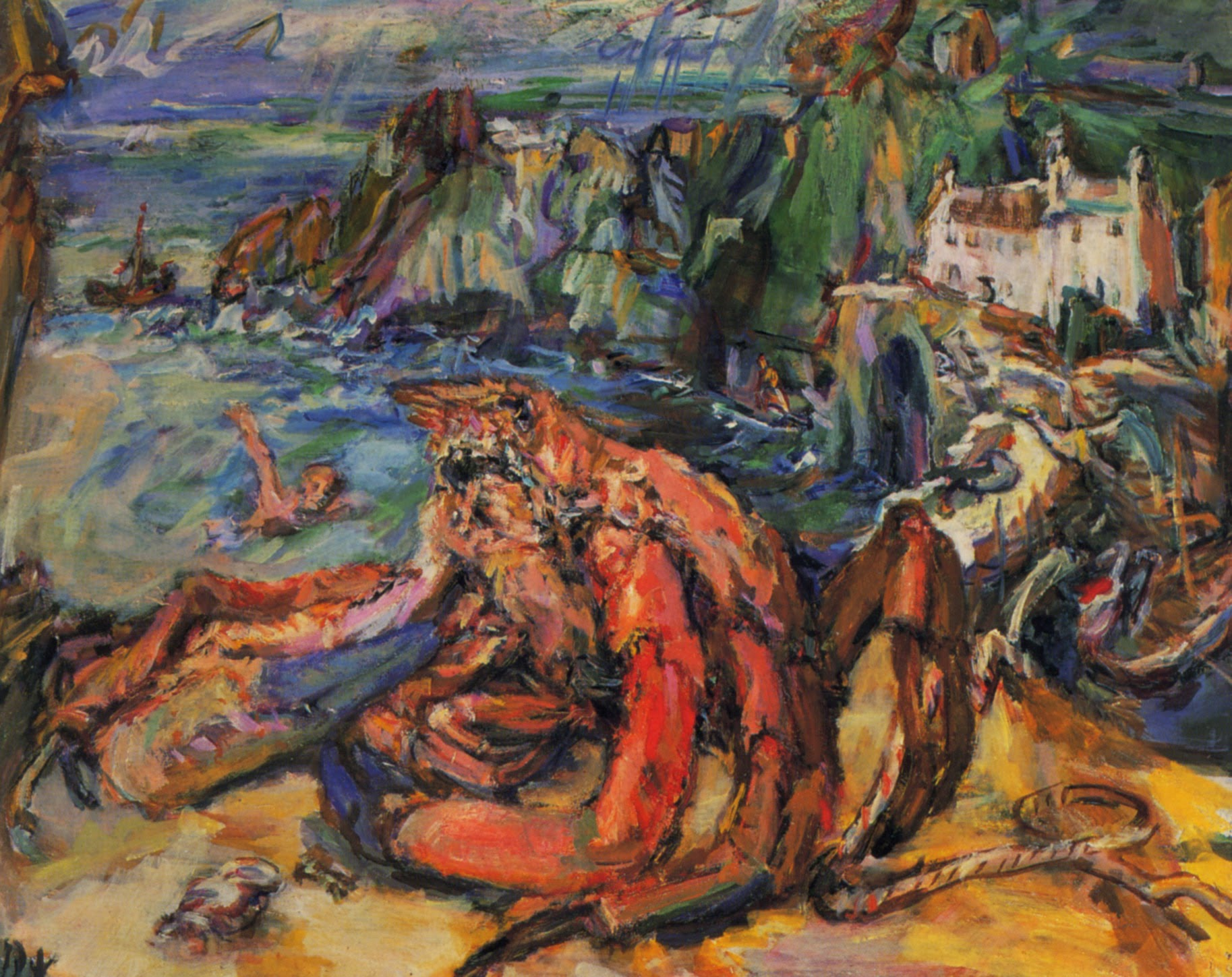 Image result for kokoschka 1940: The Crab