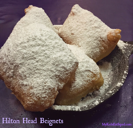 Beignets, Kenny B's Cajun Seafood Hut. From 5 Affordable Family Restaurants in Hilton Head