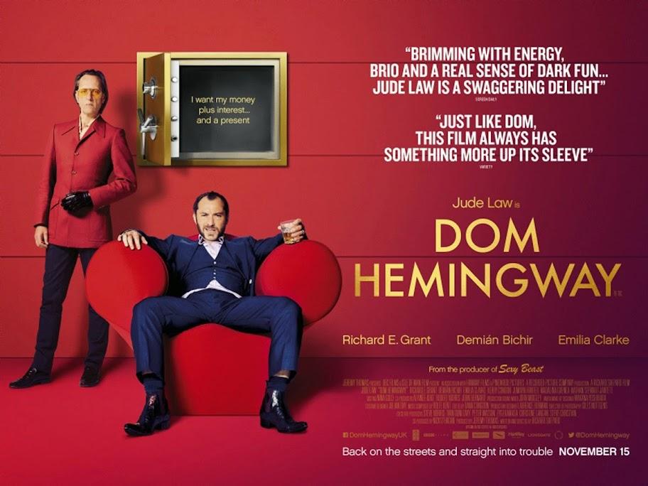 Ντομ Χέμινγουεϊ Dom Hemingway Wallpaper