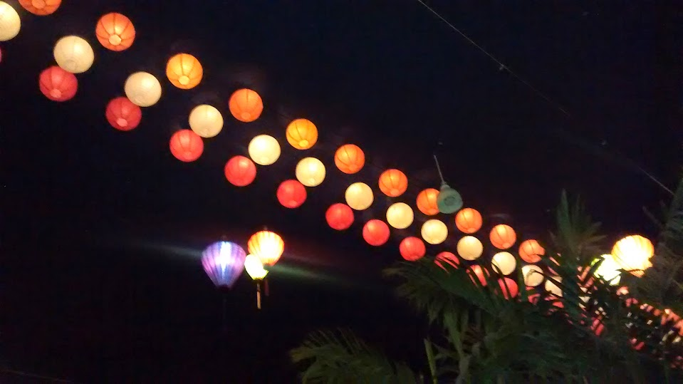 Chinese Lanterns at Malaka Spice