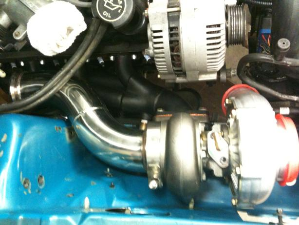 SN95 On3 Turbo Install Progress and Pics - Ford Mustang