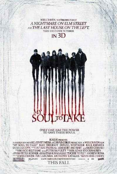 Poster Of My Soul to Take (2010) Full Movie Hindi Dubbed Free Download Watch Online At Alldownloads4u.Com