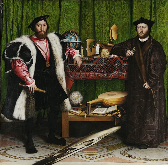 Hans Holbein the Younger - The Ambassadors - Google Art Project