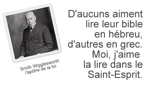 Citation de Smith Wigglesworth