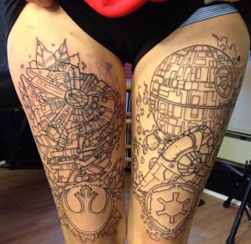 thig tattoos