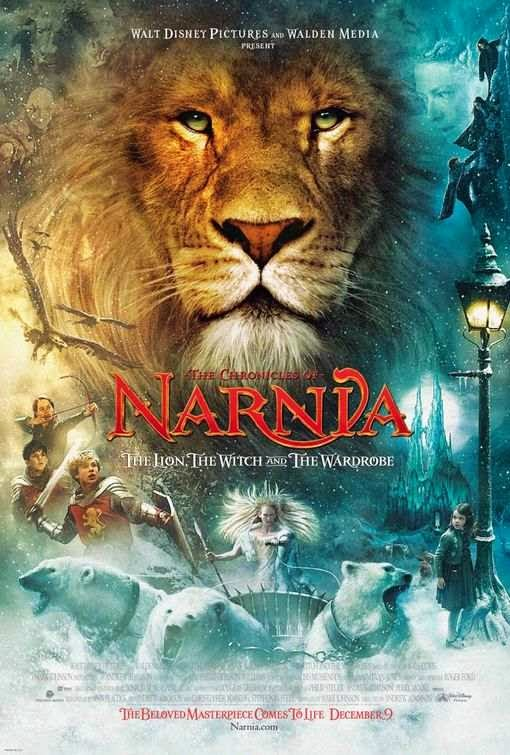 Poster Of The Chronicles of Narnia 1 (2005) Full Movie Hindi Dubbed Free Download Watch Online At Alldownloads4u.Com