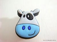 裝潢五金品名:S177-小牛安全取手規格:單孔(25*32m/m)顏色:藍色玖品五金
