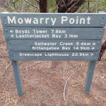 Mowarry Point signpost (104473)