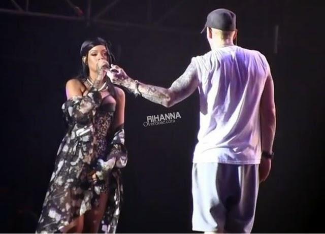 Rihanna in Givenchy for Lollapalooza