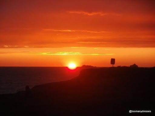 Sunset at Treyarnon