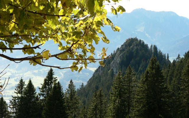 Blick von Grüntenhaus zum Burgberger Hörnble Allgäu
