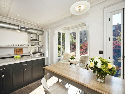 jenna lyons home brooklyn townhouse interior design home decor kitchen