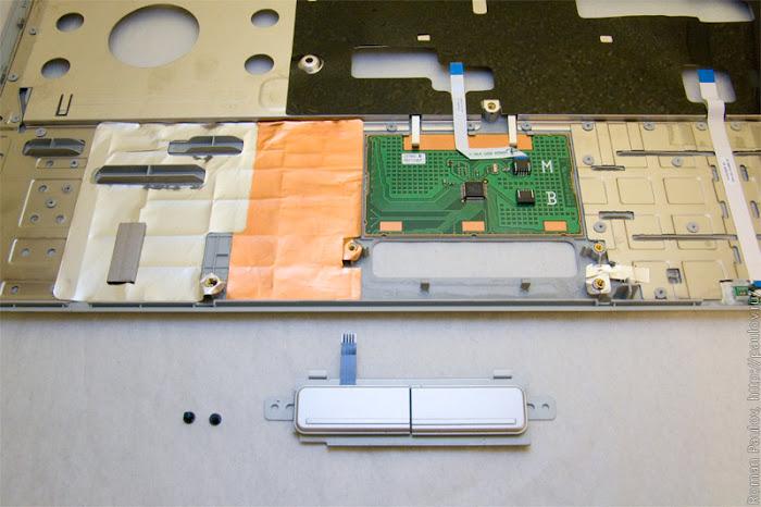 Как разобрать ноутбук Dell Inspiron 1525 32