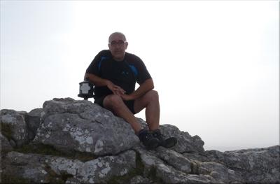 Aratz mendiaren gailurra 1.443 m. -  2012ko abuztuaren 20an