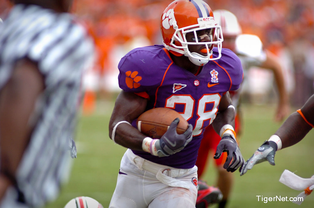 Clemson vs. Maryland Photos - 2008, C.J. Spiller, Football, Maryland