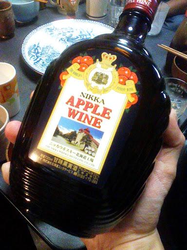 NIKKA APPLE WINE,ニッカ アップルワイン