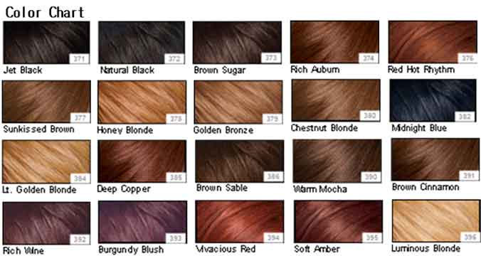 Red Hair Dye Chart Colors Red Hair And Brunette Ideas 2016